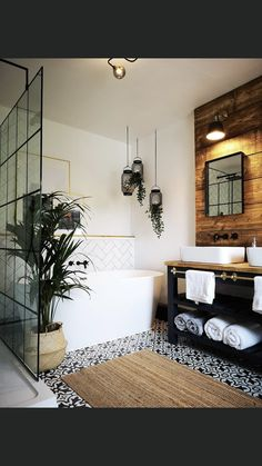 Entryway Bench, Mirror, Furniture, Shower Rooms, Bathroom, Home Decor, House Ideas, Entry Bench, Washroom