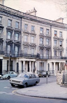 St. Stephen's Cresent in 1970s, london