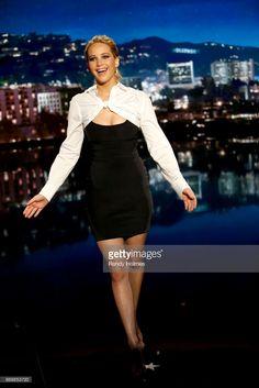 Jennifer Lawrence in Alexander Wang