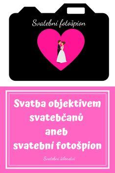Nenucená zábava pro malé i velké svatebčany? Udělej z nich svatební fotošpiony! Navíc budete mít kromě profesionálních fotek i další pěknou a originální památku od svatebčanů.  #svatebni_hry, #svatebni_zabava