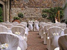 Castello il Palagio Ceremony courtyard #CourtYard #Landscape #Outdoor  ༺༺  ❤ ℭƘ ༻༻  IrvineHomeBlog.com
