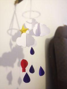 DIY Coletivo - Decoração de Papel: Móbile Nuvem - Decorar é preciso