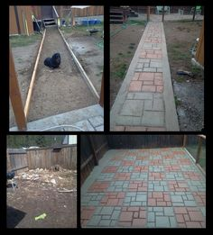This #WalkThisWay Project Entry Is Courtesy Of Sharla Long. Sharla Created  A Garden Pathway