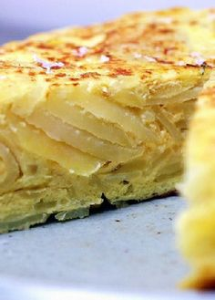 Low FODMAP Recipe and Gluten Free Recipe - Cheese, chives & potato tortilla    www.ibs-health.co...