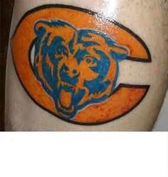 Tags Chicago Bears Tattoos Bear Tattoo Designs If You Are A Fan Of