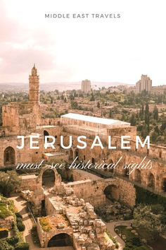 Immerse yourself in the rich culture and history of #jerusalem #israel with my guide on the top sites to visit.