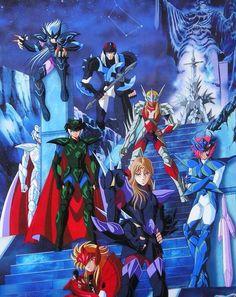 Bajo sus poderosas armaduras cada uno guardaba una historia triste y difícil, de los mejores caballeros de la serie si me lo preguntan:los fuertes Guerreros de Asgard.