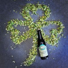 Do green right. Happy #stpatricksday  by dogfishbeer