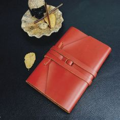 Vintage Leather Diary Journal with Strap Retro Refillable Blank Notebook Gift #RefillableLeatherJournal