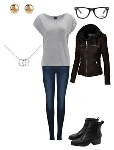 """""""Untitled #164"""" by mrs-grant-guston ❤ liked on Polyvore featuring Dr. Denim, Muse, Jules Smith and Blue Nile"""