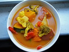 Soup for Days: Thai-Style Vegetable Curry