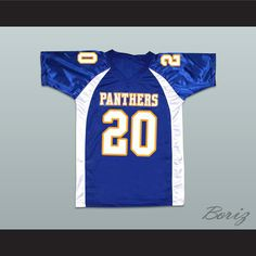 228d1616a Friday Night Lights Brian  Smash  Williams 20 Dillon High School Panthers Football  Jersey Panthers