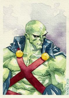 Martian Manhunter by Roger Cruz