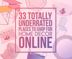 33 Places To Shop For Home Decor Online That You