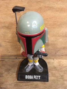 "Your buying One (1) Funko Wacky Wobbler: Star Wars - Boba Fett Bobble Head. Part of Star Wars Franchise! Lucas films LTD. Measures: Approx. 6"" High. 