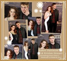 Robert so handsome and kristen so beatiful