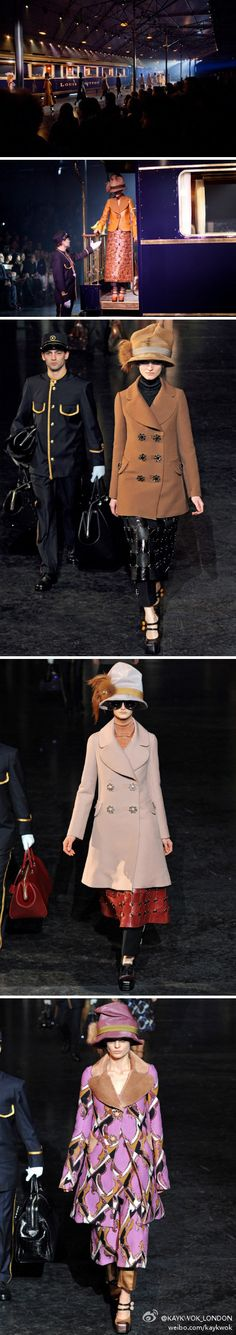 Louis Vuitton Fall 2012 COLLECTION LV train