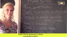 """Možná víte, že když v angličtině chcete říci, že """"někde něco je"""", je nezbytné použít vazbu """"there is /are"""".  Víte ale přesně, co tato vazba znamená? Myslíte si, že její význam je """"tam je/jsou""""? Bohužel, ač je o tom spousta studentů přesvědčena, toto není správný překlad. A právě z tohoto pramení většina chyb spojených s touto vazbou. Mrkněte na náš videotip a posuňte se zase o kousek dál!http://www.perfect-world.cz/vyhnete-se-velmi-obvykle-chybe-ve-vazbe-there-is/are"""