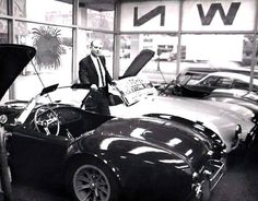 Cobra Dealership; There's about a million dollars in those three cobras in today's dollars!