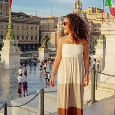 Officially in love with Rome. And traveling. And life in general. Rome, Strapless Dress, Traveling, Memories, Instagram, Dresses, Fashion, Gowns, Moda