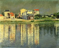 Gustave Caillebotte, Banks of the Seine at Argenteuil