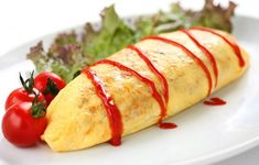 5 Delicious Japanese Egg Recipes You Should Try Today, Bored of eating the same omelet or scrambled eggs for breakfast? Or the fried eggs for lunch? It is time you try something new. And, Japanese egg recipes are, Japanese Omelet, Japanese Egg, Egg Recipes, Cooking Recipes, Cooking Stuff, Asian Recipes, Omurice Recipe, Egg Omelette Recipe, Yummy Pancake Recipe