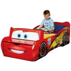 cars toddler bed | Disney Cars Toddler Bed - snuggle up to sleep with your favourite ...