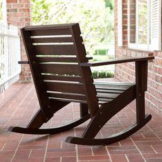 Hudson Rocking Chair - Adirondack Chairs at Hayneedle