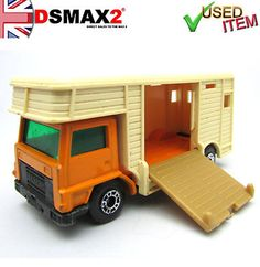Vintage Toys 80s, Camper Trailers, Campers, Matchbox Cars, Vintage Horse, Old Toys, Hot Wheels, Diecast, Classic