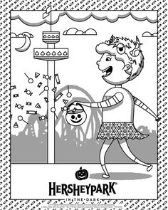hershey coloring pages for kids - photo#10