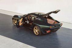 Alfa Romeo Disco Volante by Carrozzeria Touring Superleggera in green & gold Photo Gallery - Autoblog