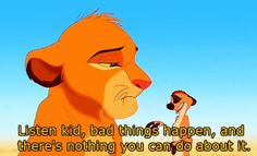 I love Timon, almost as much as I love Pumba! Lion King Quotes, Pumba, Fraggle Rock, Le Roi Lion, Disney Quotes, Disney Memes, Disney Love, Disney Stuff, Walt Disney