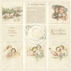 Images from the Past contains adorable vintage pictures in color. The different themes ensure that you willfind a suitable imageno matter what or who the aim of your paper crafting may be. Images…