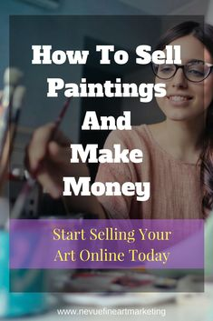 Discover how to sell paintings and make money doing something you love. It doesn't matter if you sell abstract art, watercolor painting. Artwork Online, Online Painting, Online Art Gallery, Sell Artwork, Art For Sale Online, Selling Art Online, Where To Sell, Selling Paintings, Art Paintings