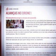 http://www.nomeucasamento.com/noticias.asp?codigo=239 #Aliança #Drone #NoMeuCasamento #Noiva #Jundiaí #Casamento #Bride #Wedding #Mulher
