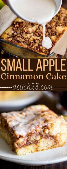 SMALL APPLE CINNAMON CAKE