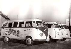 1955: VW als Pez-Werbeträger