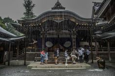 Ise Shrine to rains Photo by Hidenobu Suzuki -- National Geographic Your Shot