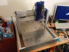 In this video, I am showing step by step everything needed to build a CNC at home as a DIY project. The video shows a sample cut for building a quadcopter at...