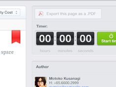 Countdown timer layout found on Dribbble.