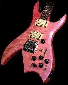 1987 B.C. Rich Bich Supreme in Trans Pink Pearl Burst
