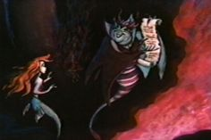 Disney Concept Art - Ariel and Ursula