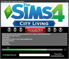 The Sims 4 City Living Key Generator