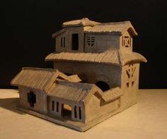 A Han Dynasty Pottery Model of a House