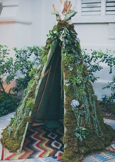 Living Teepee | photo by Mr Haack | 100 Layer Cake