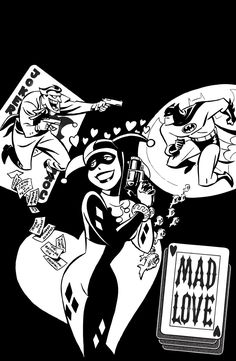 biggoonie:  Coloring DC: Batman Adventures-Mad Love TP by Bruce Timm   COLORING DC: BATMAN ADVENTURES – MAD LOVE TPWritten by PAUL DINI and BRUCE TIMM Art and cover by BRUCE TIMM On sale MARCH 16 • 96 pg, B&W, $15.99 USDC Comics presents classic adventures in a whole new way: in black and white, on heavy stock suitable for coloring! This Eisner Award-winning tale told the origin of Harley Quinn, by the creative team that first introduced her in Batman: The Animated Series! Includes MAD L...