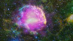 La imatge de dalt mostra la imatge de raigs gamma Fermi de la nebulosa de les meduses (en magenta), juntament amb les observacions de l'òptica (en groc) en l'infraroig http://heasarc.gsfc.nasa.gov/Images/objects/heapow/ nebuloses / jellyfish_fermi.jpg