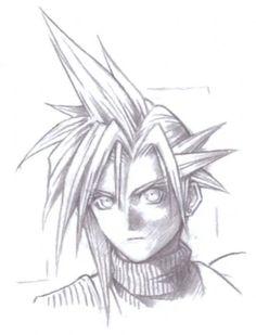 Tetsuya Nomura, Vincent Valentine, Logo Sketches, Victory Pose, Forest Plants, Final Fantasy Vii Remake, Main Theme, Portrait Sketches, Character Sketches