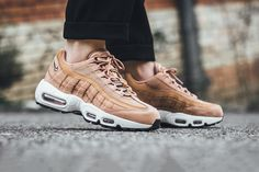 The Best Discount For Nike Air Max 95 Dusted Clay Black Sail Sneakers Nike Air Max, Air Max 95, Cute Shoes, Me Too Shoes, Air Jordan, Reebok, Knee High Boots, High Heels, Nba