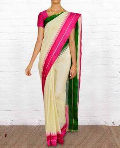 Gadwal Sarees GWS029 - Gadwal Sarees - Pure Silk Sarees